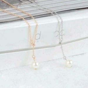 Jewelry - 5 for $25 Pearl Pendant Statement Necklace